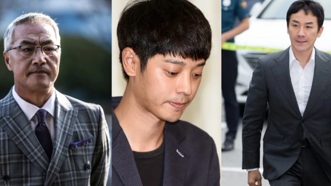 Selebriti Korea pelaku kekerasan seksual