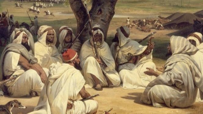 Ilustrasi masyarakat zaman jahiliah