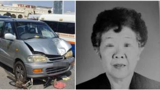 Nenek 77 tahun tewas terlindas mobil saat bersepeda membeli sarapan suaminya