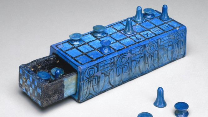 Gaming Board Inscribed for Amenhotep III