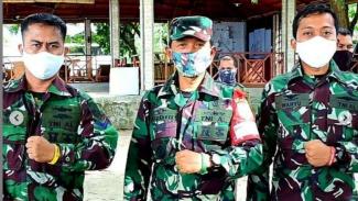 VIVA Militer: Penggunaan Gelang Warna-warni di Lantamal VI Makassar