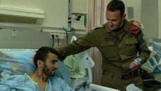 VIVA Militer: Sersan Ibrahim di rumah sakit.