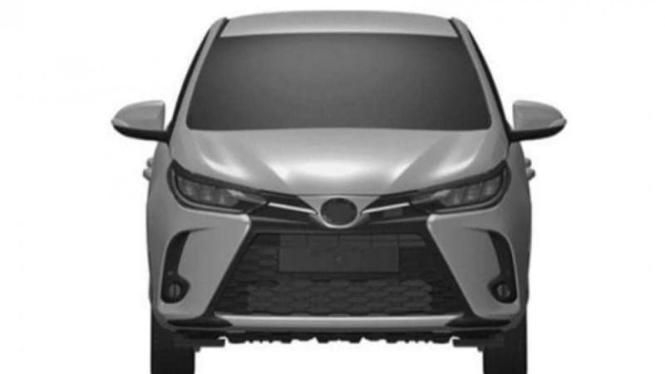 Beredar Paten Toyota Yaris Facelift, Begini Penampakannya