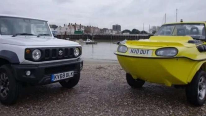 Suzuki Jimny Amfibi.