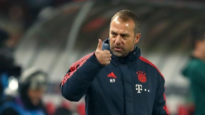 Pelatih Bayern Munich, Hansi Flick.