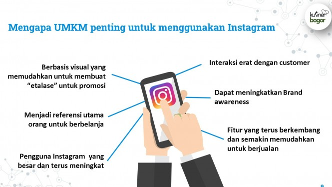 Manfaat Instagram buat UMKM.