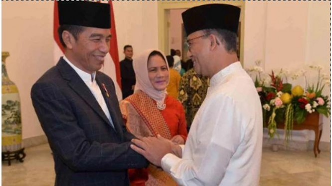 Jokowi dan Anies.