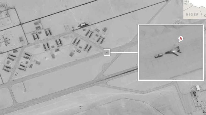 VIVA Militer:  Pesawat Rusia yang dikirim ke Libya terpantau mata-mata Amerika.