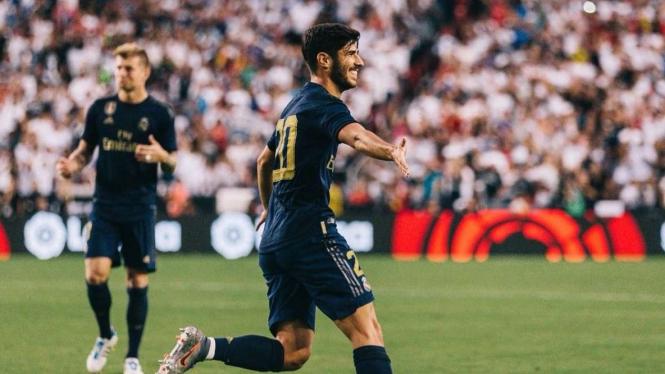 Gelandang Real Madrid, Marco Asensio