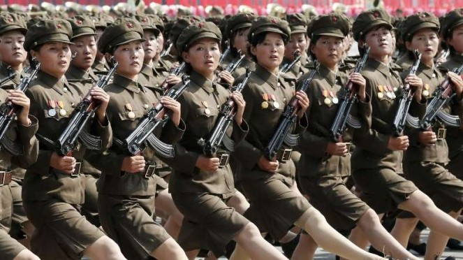 VIVA Militer: Prajurit wanita Tentara Rakyat Korea Utara