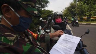 Keluar Masuk Jakarta Selama PSBB Transisi, SIKM Masih Berlaku
