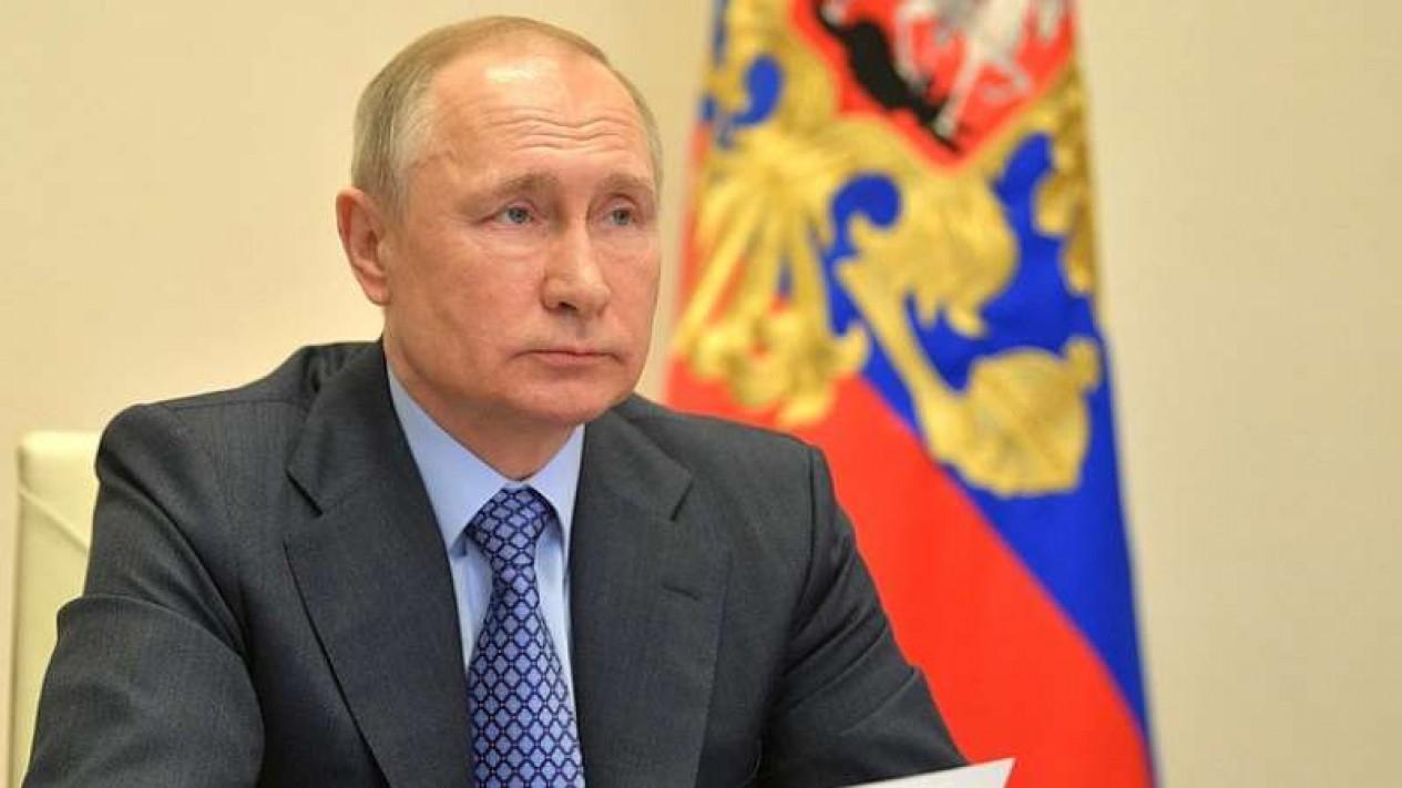 VIVA Militer: Presiden Rusia Vladimir Putin.