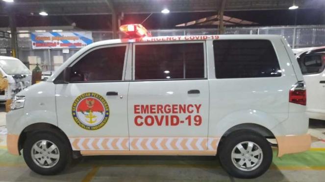 Ilustrasi Ambulans untuk penanganan COVID-19