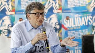 Miliarder Bill Gates.