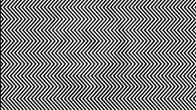 Gambar ilusi optik.