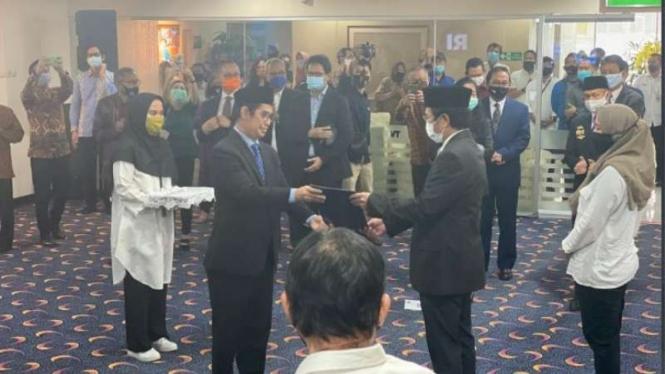 Komisi I DPR: Pelantikan Iman Brotoseno Langgar UU