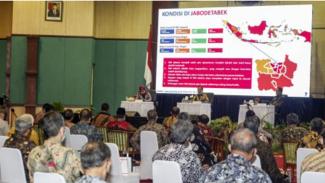Mendagri, Tito Karnavian beri arahan soal COVID-19 di Bogor.