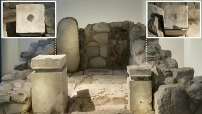 Gereja Yahudi usia 2.700 tahun