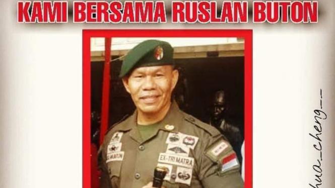 Ruslan Buton minta Jokowi lengser.