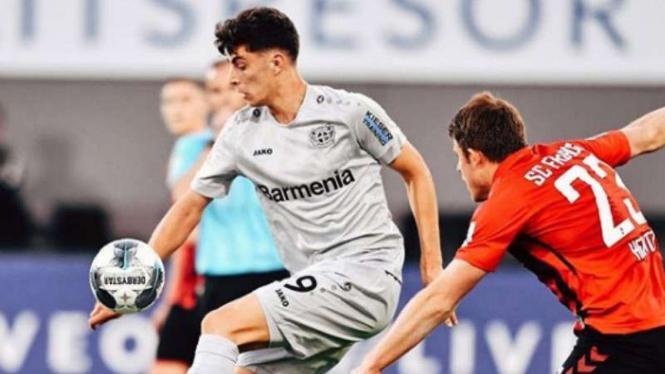 Winger Bayer Leverkusen, Kai Havertz.