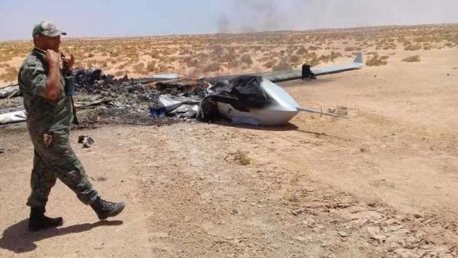 VIVA Militer: Drone militer Turki hancur ditembak pasukan Singa LNA di Libya