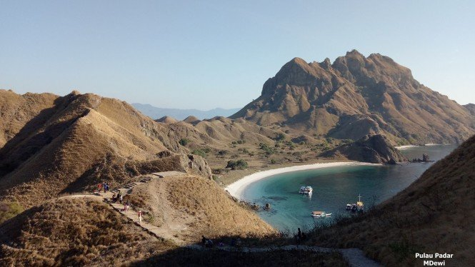 Pulau Padar di Labuan Bajo, NTT