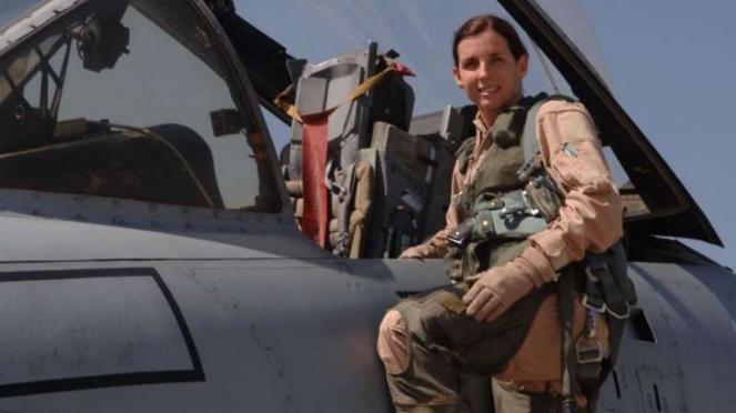 VIVA Militer: Kolonel Marta McSally saat masih bertugas di Angkatan Udara AS