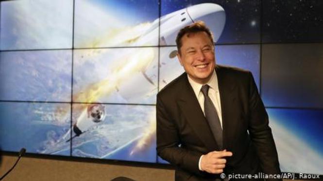 Bos SpaceX, Elon Musk.