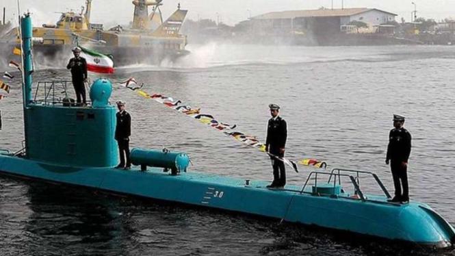 VIVA Militer: Drone bawah laut (UUV) baru milik militer Iran
