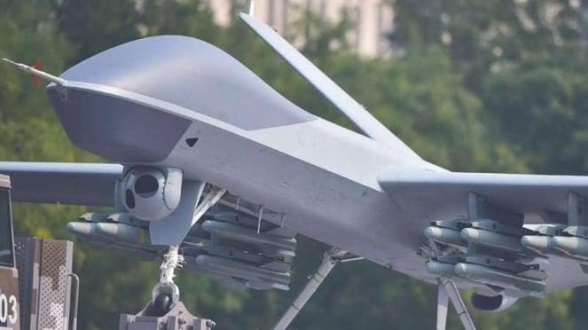 VIVA Militer: Drone GJ-2 milik Tentara Pembebeasan Rakyat China (PLA)a