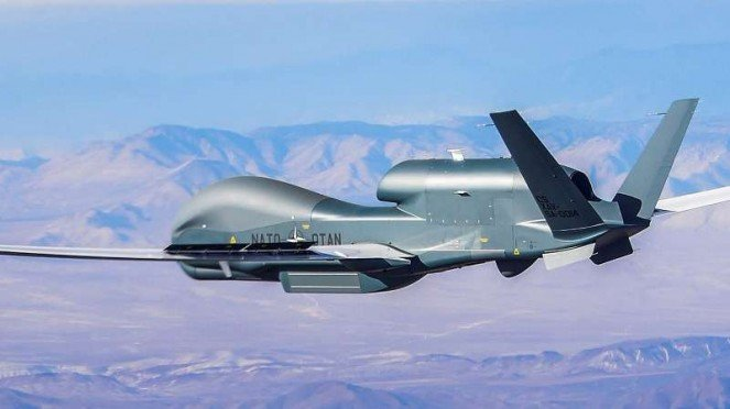 VIVA Militer: Drone Northrop Grumman RQ-4 Global Hawk