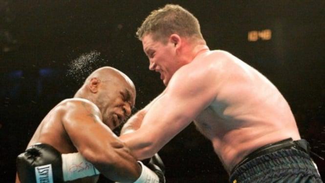 Duel Mike Tyson versus Kevin McBride