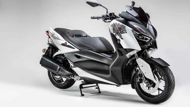 Yamaha luncurkan skutik X-Max 300 Roma Edition, hanya ada 130 unit.