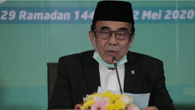 Menteri Agama, Fachrul Razi.