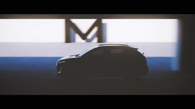 Gambar penggoda SUV baru Nissan Magnite