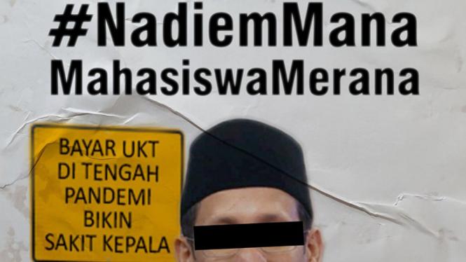 Nadiem Makarim trending di Twitter.