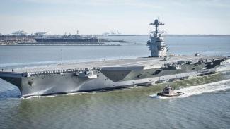 Kapal Induk Kelas Ford, Amerika Serikat, Image via: Wikipedia