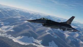 VIVA Militer: Pesawat tempur F-16.