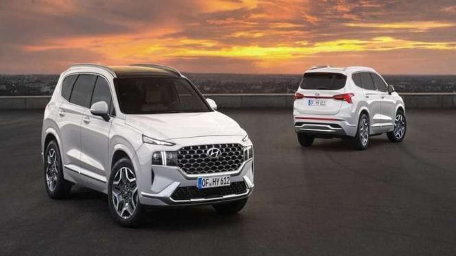 Tampilan baru SUV Hyundai Santa Fe