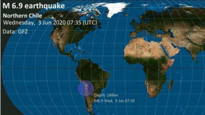 Gempa bumi di Chile