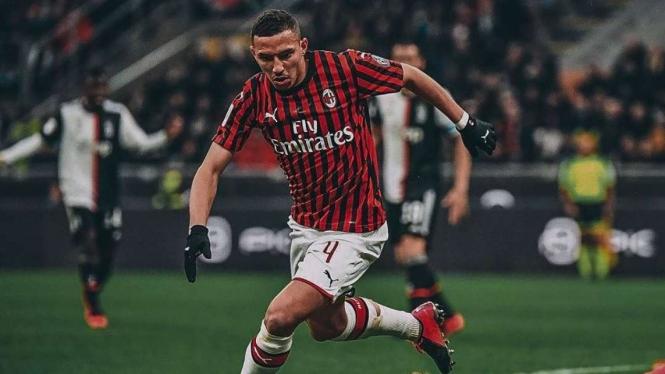 Gelandang AC Milan, Ismael Bennacer