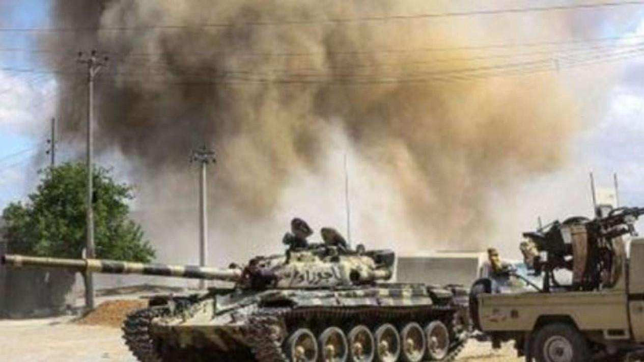 VIVA Militer: Pertempuran LNA vs GNA di Tripoli.