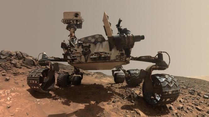 Mars Rover Curiosity. Image via: Nasa