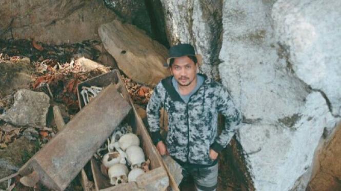 Gua Tengkorak Kampung Penggoli, Kab Poso