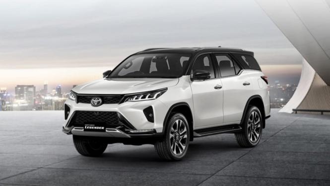Toyota Fortuner Legender resmi meluncur di Thailand