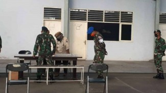 VIVA Militer: Personel Lanud Soewondo Jalani Test Narkoba Dadakan