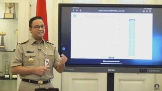 Gubernur DKI Jakarta, Anies Baswedan, memberi penjelasan terkait PSBB.