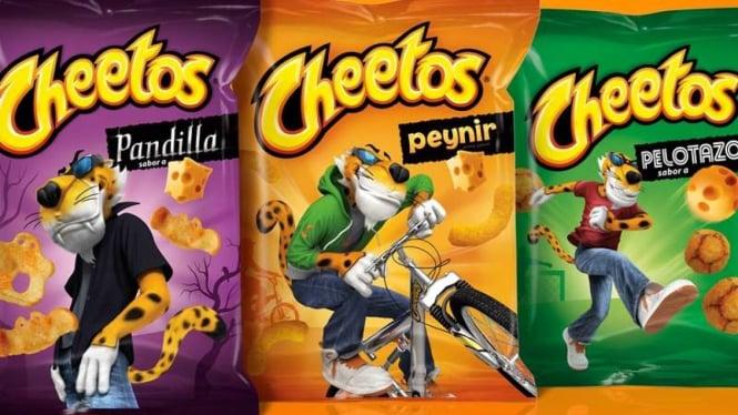 VIVA Militer: Makanan ringan Cheetos