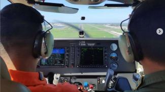 VIVA Militer: Siswa Dikpabang Jalani Latihan Terbang Navigasi
