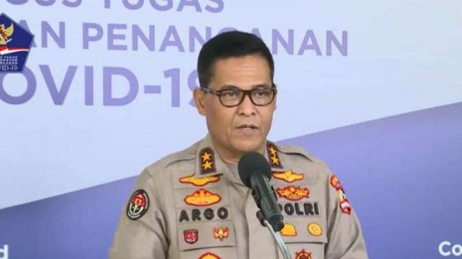 Kadiv Humas Polri Irjen Pol Raden Prabowo Argo Yuwono